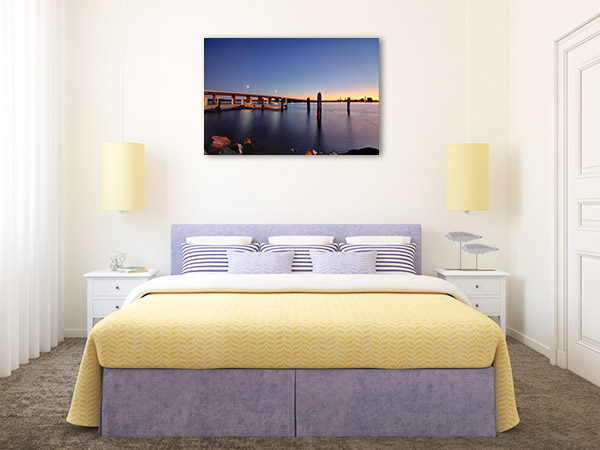 Forster Tuncurry Wall Art Print Bridge Picture Artwork