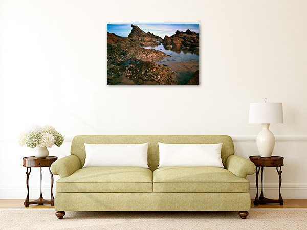 Forster Wall Art Print NSW Rocks Photo Artwork