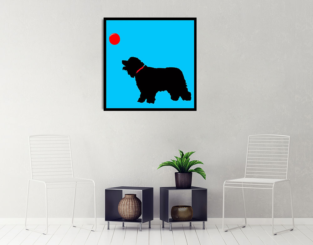 Kids Room Art Print on Canvas