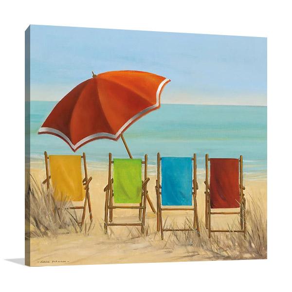 Four Summer I Wall Art | Carol Robinson