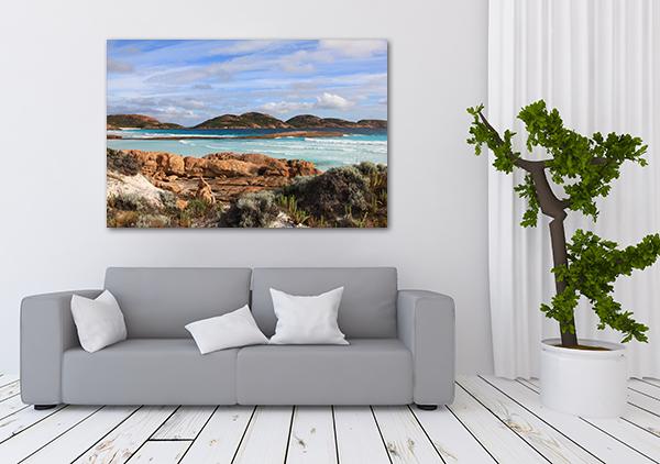 Fraser Island Canvas Art Print on the wall