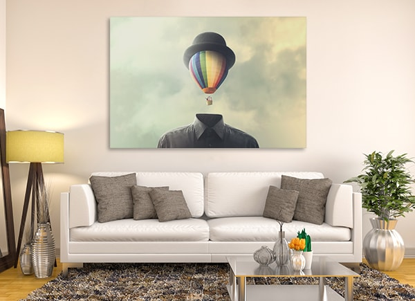 Freedom Soul Art Print on the Wall