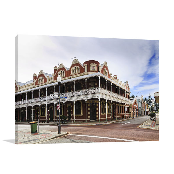 Fremantle Downtown Art Print City Corner