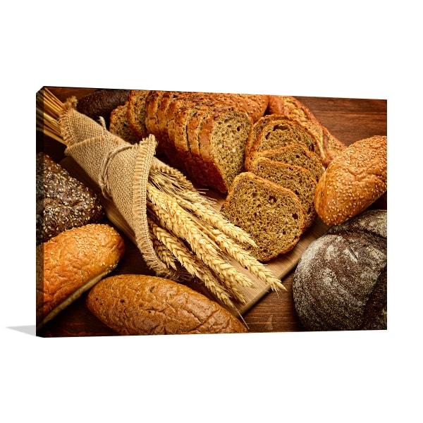 Fresh Bread Canvas Art