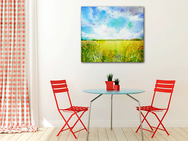 Fresh Meadow Canvas Art