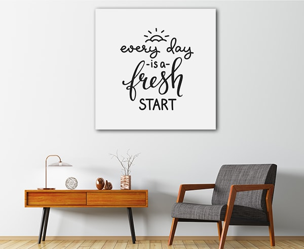 Fresh Start Print Artwork