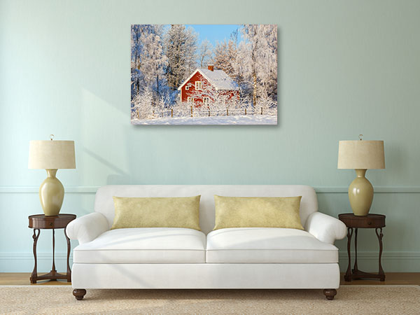 Frost and Snow Wall Art