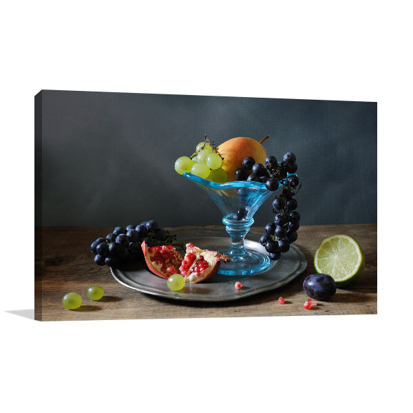 Fruit Mosaic Canvas Art
