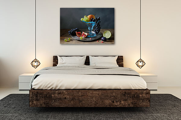 Fruit Mosaic Canvas Prints