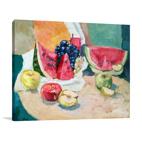 Fruit-Piece Art Prints