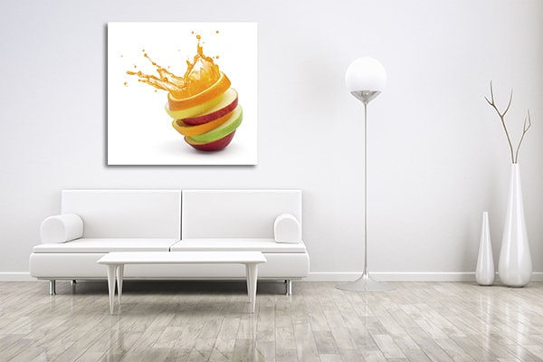 Fruit Slices Canvas Prints