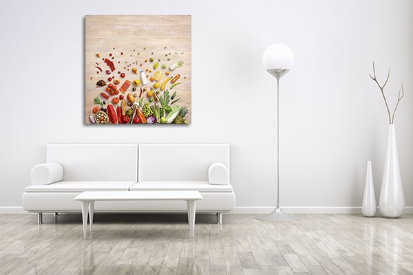 Fruits And Vegetables Prints Canvas