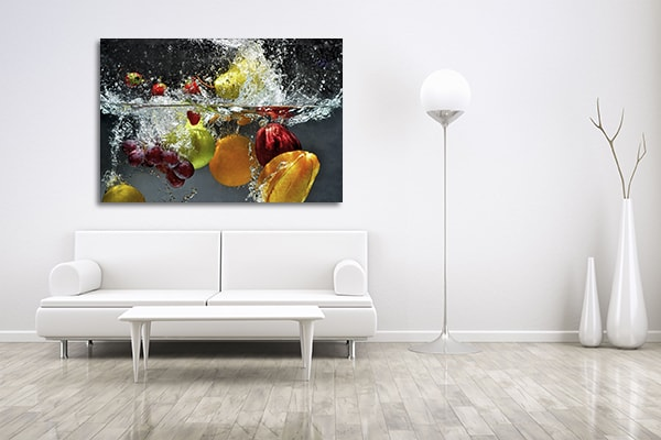 Fruits on Water Canvas Art