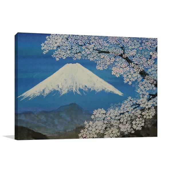Fuji Sumie Style Art Prints