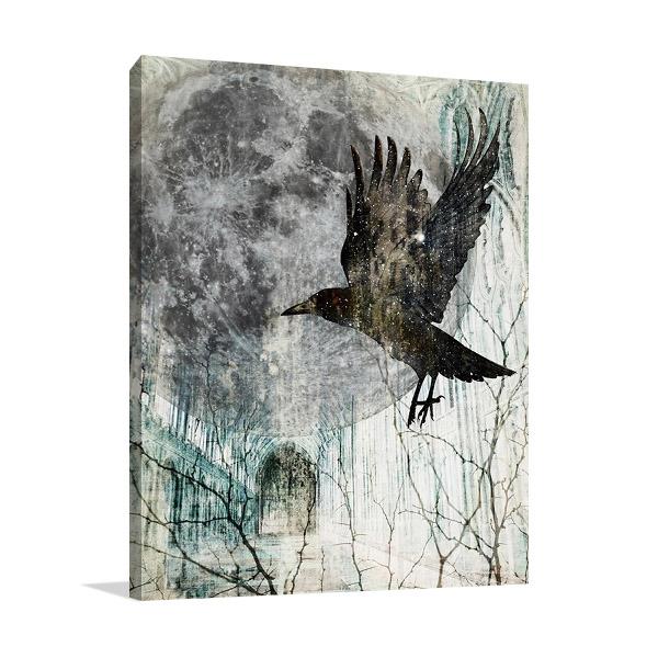 Full Moon Rising Canvas Art Print