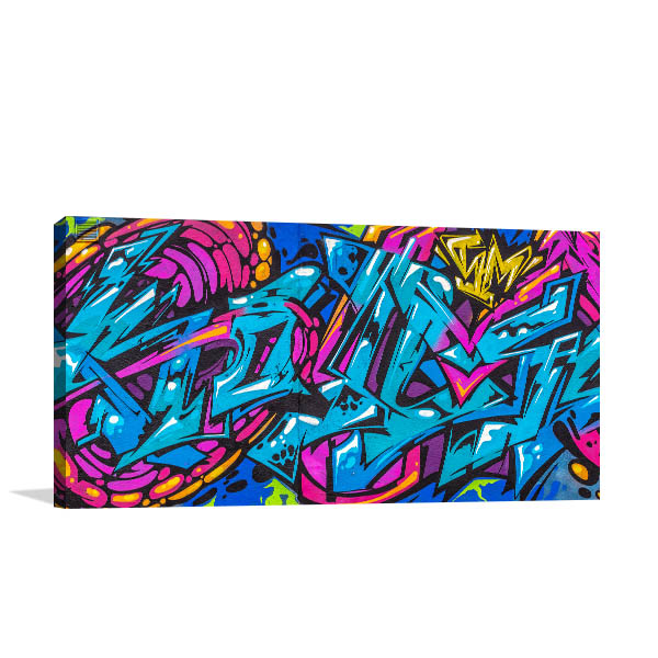 Funky Abstract Design Wall Art
