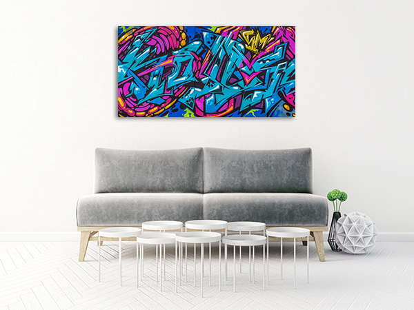 Funky Abstract Design Art Prints