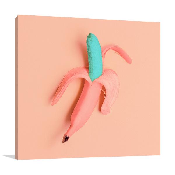Funky Banana Canvas Art