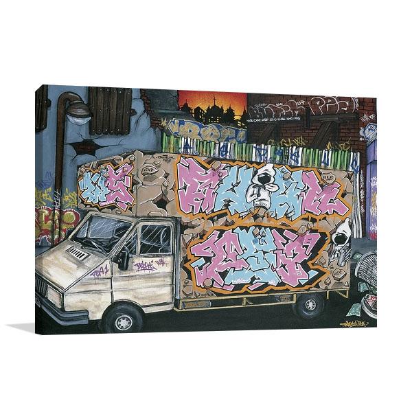 Funky Truck I Wall Print