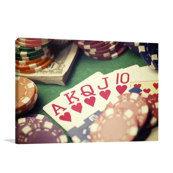 Gambling Art Prints