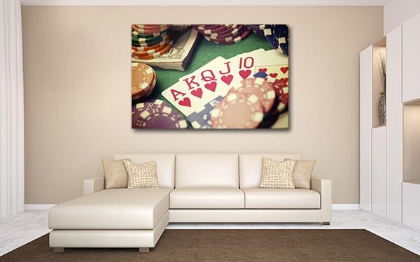 Gambling Canvas Prints