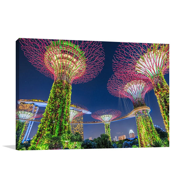 Gardens by the Bay Singapore Print