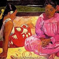 Gaugin | Tahitian Women (On the Beach) Replica Painting