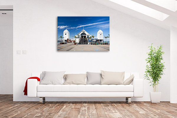 Geelong Canvas Print Cunningham Pier Artwork Picture