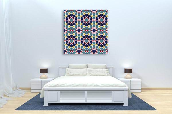 Geometric Islam Ornament Canvas Prints