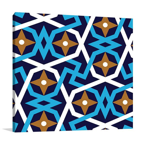Geometric Islamic Canvas Art