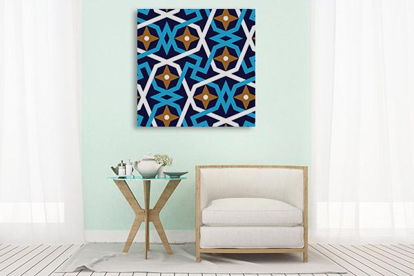 Geometric Islamic Prints Canvas