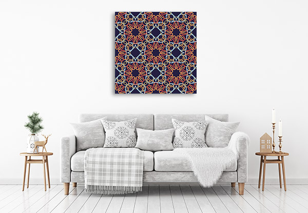 Geometric Mandala Art Prints