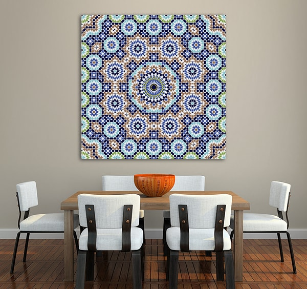 Geometric Ornament Print Artwork