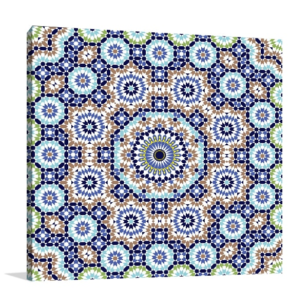 Geometric Ornament Wall Art