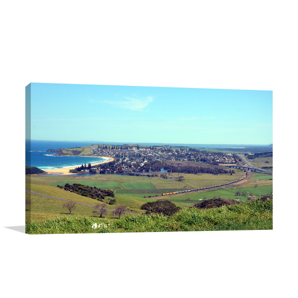 Gerrigong Art Print Mount Pleasant Lookout