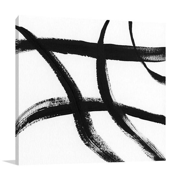 Artist Nan | Gestural Marks II Canvas Art Print