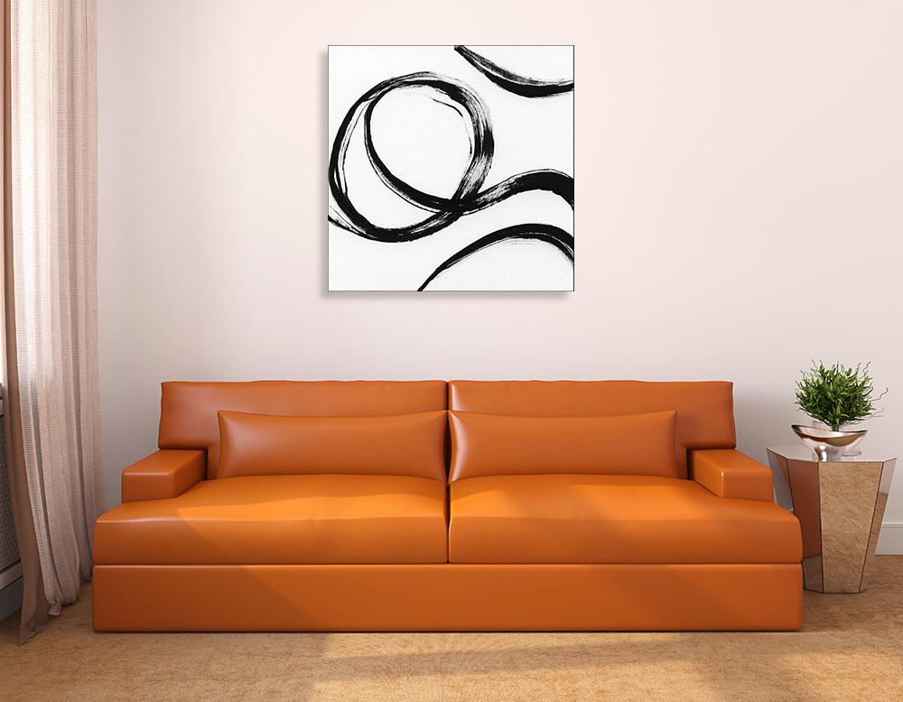 Black and White Contemporary Art Print