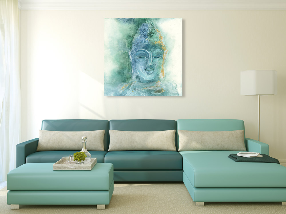 Indian Buddha Art Print on Canvas