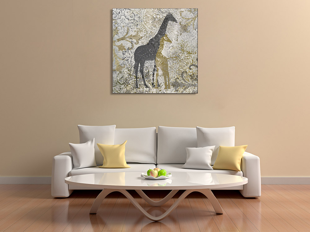 Africa Animal Prints on Canvas