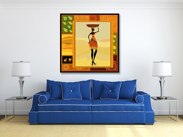 Girl Pose Prints Canvas