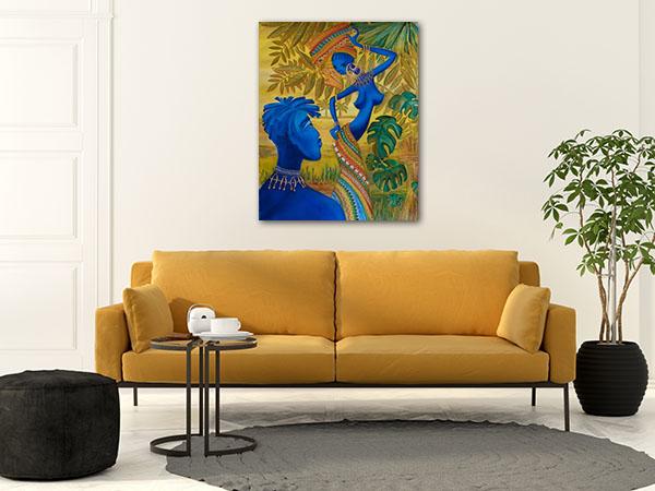 Girl Tuzemku Prints Canvas