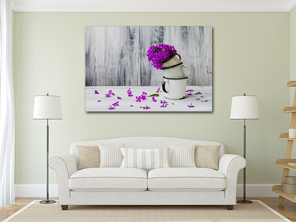 Gladiolus Artwork on the Wall