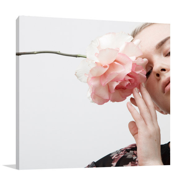 Glamour Style Photo Canvas