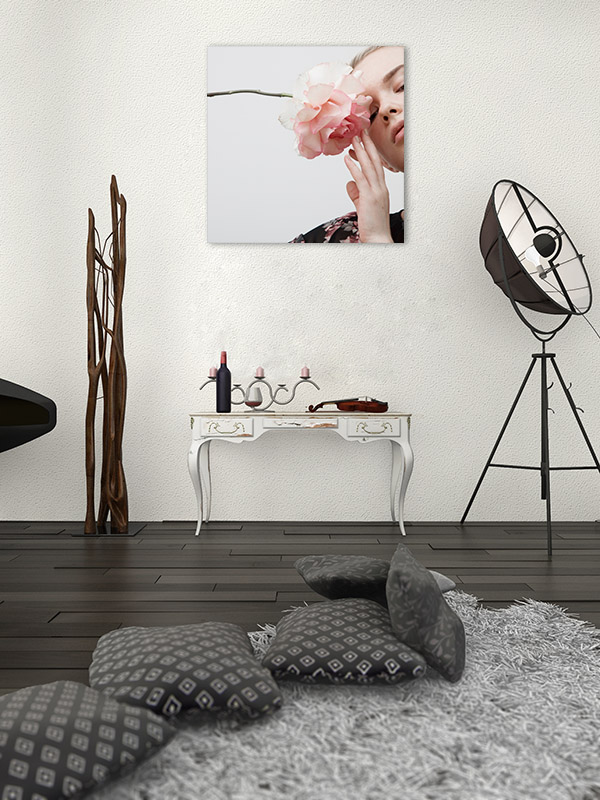 Glamour Style Artwork Canvas