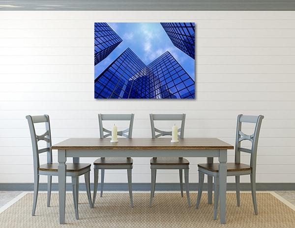 Glass Skyscraper Canvas Art Print Print Artwork