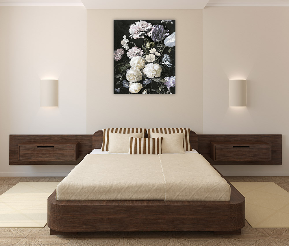 Bedroom Canvas Art Print