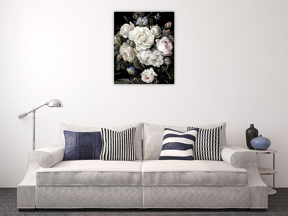 Floral Flower Wall Art Print