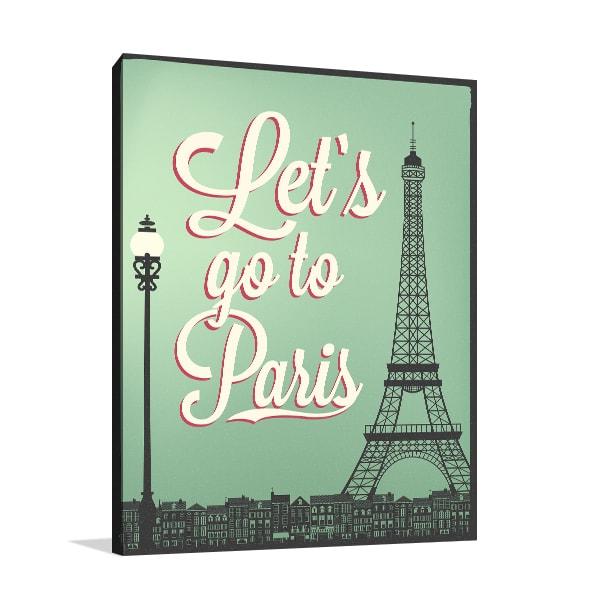 Go to Paris Art Prints