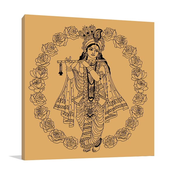 Goddess in Buds Art Prints