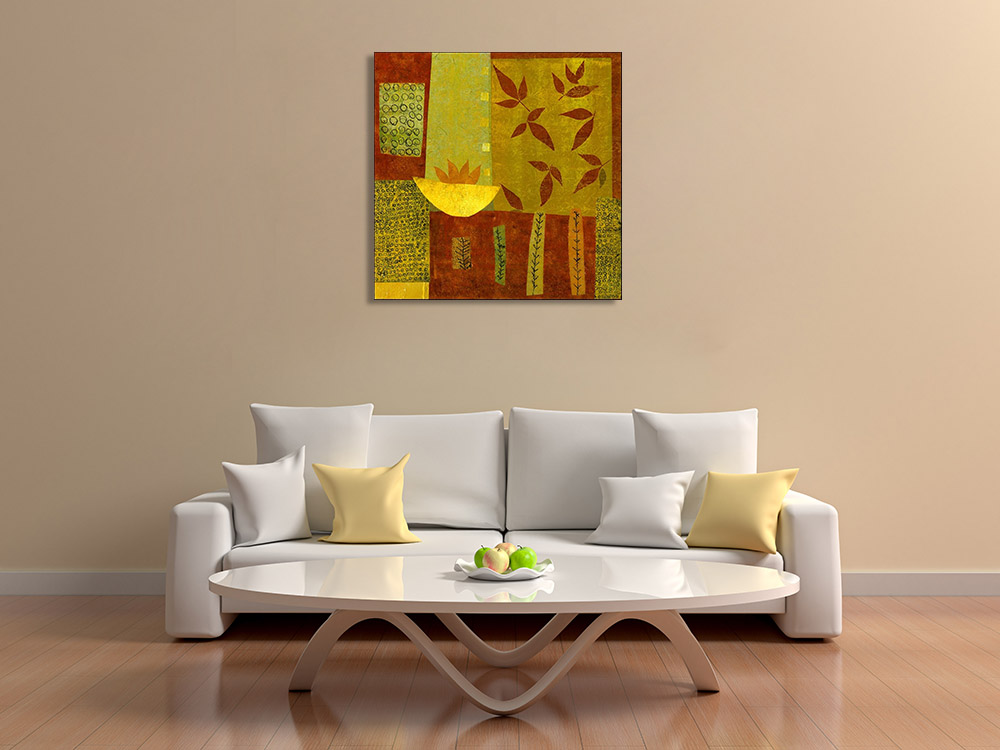 Abstract Botanical Online Print Canvas